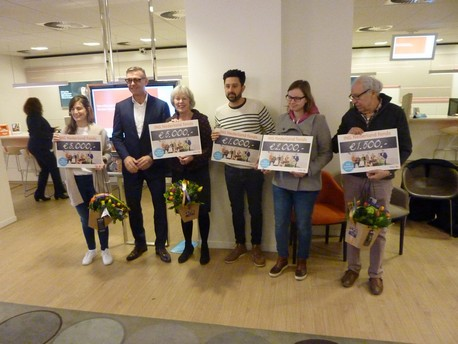 KansenNet wint de hoofdprijs van    € 5.000,-