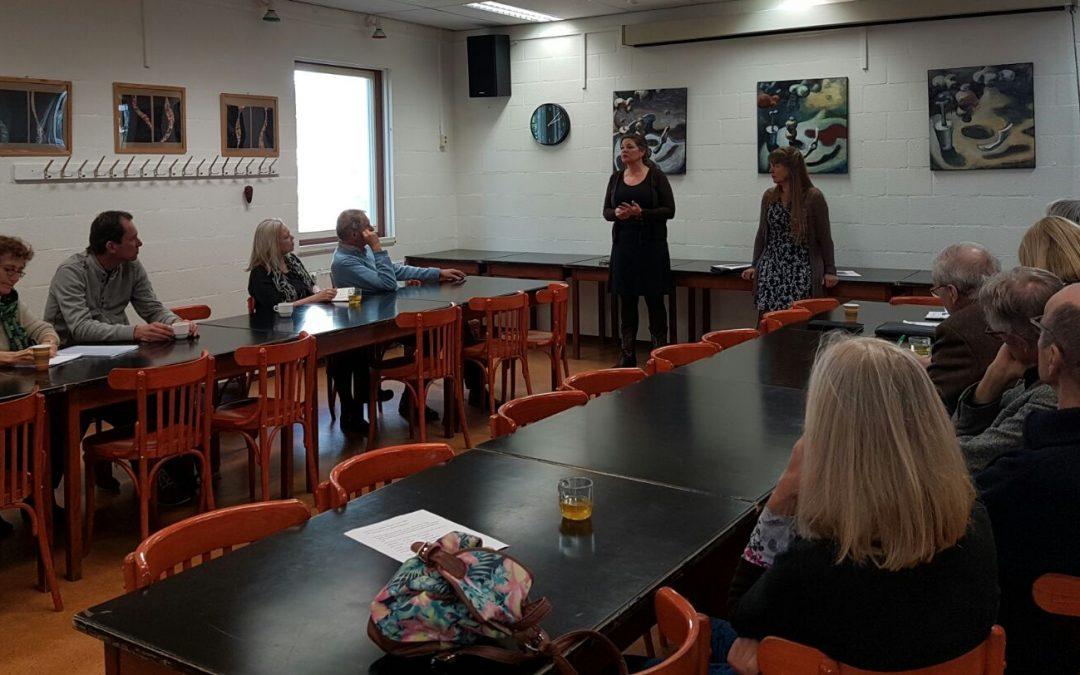 Coaches Startende Ondernemers en Loopbaan Coaching ontmoeten team Ondersteuning Ondernemers van de Gemeente Amsterdam.