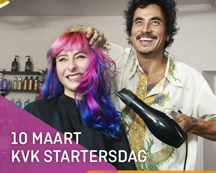 KansenNet Startende ondernemers op Startersdag van de KvK in Amsterdam